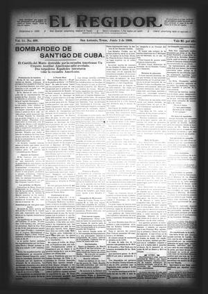 El Regidor. (San Antonio, Tex.), Vol. 11, No. 466, Ed. 1 Thursday, June 2, 1898
