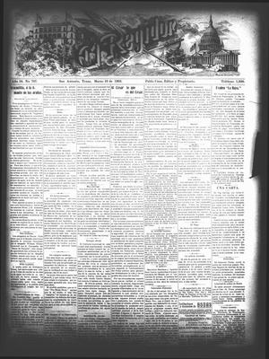 El Regidor. (San Antonio, Tex.), Vol. 16, No. 707, Ed. 1 Thursday, March 19, 1903