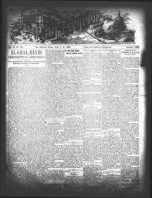 El Regidor. (San Antonio, Tex.), Vol. 16, No. 722, Ed. 1 Thursday, July 2, 1903