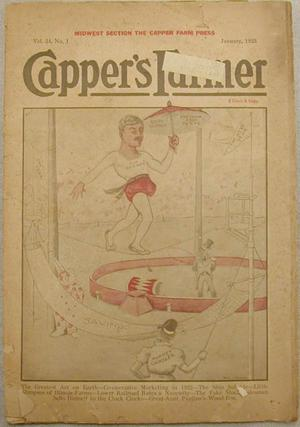 "Primary view of object titled '[""Capper's Farmer"" magazine January 1923]'."