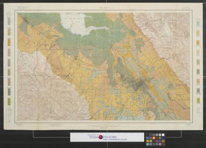 Soil map California San Jose sheet The Portal to Texas History