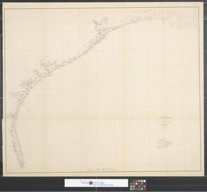 Primary view of object titled 'Sketch showing the progress of the Survey in section no. IX from 1848 to 1883.'.