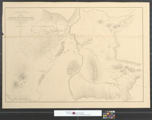 Primary view of object titled 'Map of the Lower Geyser Basin, Yellowstone National Park.'.
