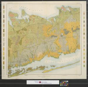 Primary view of object titled 'Soil map, New York, Babylon sheet.'.