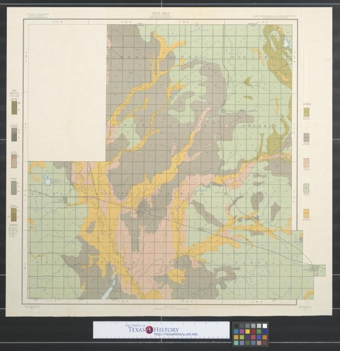 Soil map South Dakota Brookings sheet The Portal to Texas History