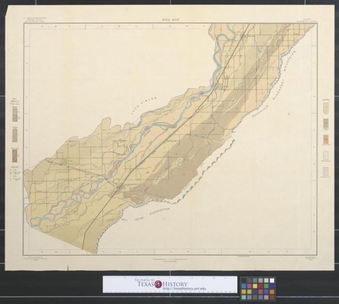 Soil Map Idaho Blackfoot Sheet The Portal To Texas History