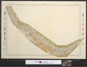 Primary view of object titled 'Soil map, Arizona, Solomonsville sheet [Graham County].'.