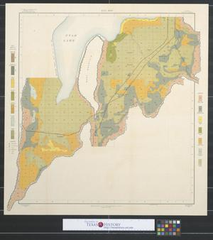Soil map, Utah, Goshen sheet.