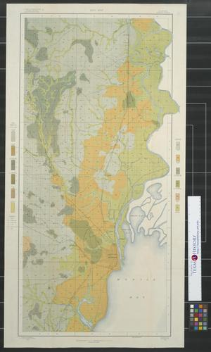 Primary view of object titled 'Soil map, Alabama, Mobile sheet.'.