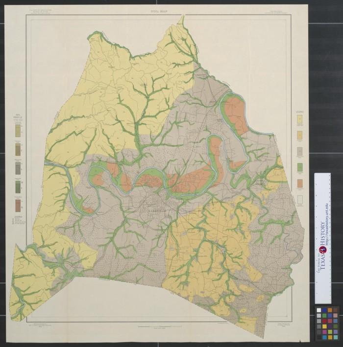 Davidson County Tn Map on