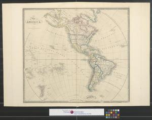 Primary view of object titled 'Map of America, 1856'.