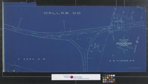 "Primary view of object titled 'St. L. S-W Ry. of Texas : Addison M.P.""c"" 598.41.'."