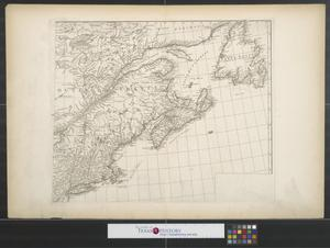 Primary view of object titled 'Canada, Louisiane et terres angloises [Sheet 2].'.