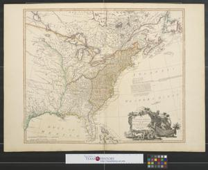 Primary view of The United States of North America with the British territories and those of Spain : according to the treaty of 1784.