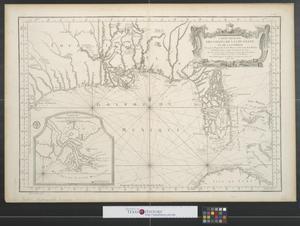 Primary view of Carte reduite des costes de la Louisiane et de la Floride.