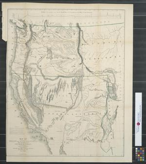 Primary view of object titled 'Map of Oregon and Upper California from the surveys of John Charles Frémont and other authorities.'.