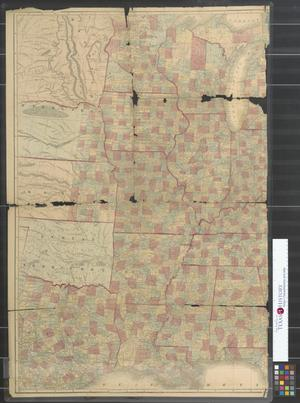 Primary view of object titled 'Lloyd's new map of the United States, the Canadas and New Brunswick [sheet 2]'.