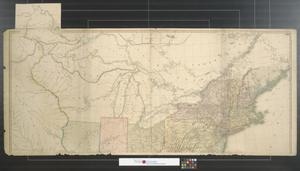 Primary view of object titled 'A map of the United States of North America. [Sheet 1]'.