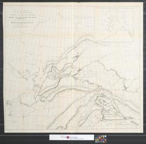Primary view of object titled 'Alaska, north of the 60th parallel showing the explorations of the party commanded by Lieut. H.T. Allen, 2d U.S. Cavalry.'.
