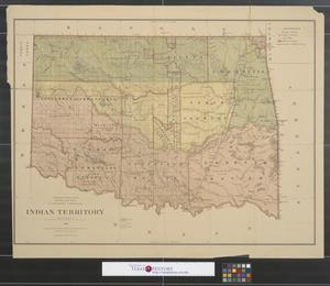 Primary view of object titled 'Indian Territory, 1879'.
