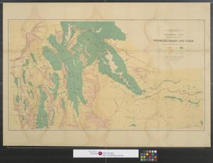 Primary view of object titled 'Economic map of portions of Wyoming, Idaho and Utah.'.