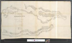Primary view of Survey of Kennebeck River [Sheet 1].