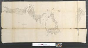 Primary view of object titled 'Survey of Kennebeck River [Sheet 2].'.
