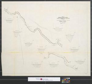 Primary view of object titled 'Map of Brazos River, Texas from Richmond to Velasco, November 1894. Sheet no. 4..'.