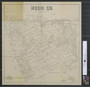 Primary view of object titled 'Hood Co. [Texas]'.