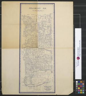 Primary view of object titled 'Franklin County [Texas]'.