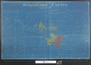 Primary view of object titled 'Schleicher County.'.