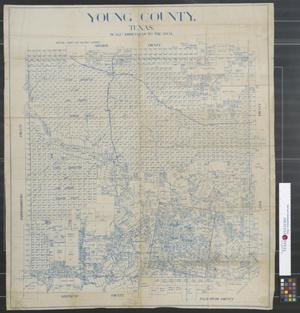 Primary view of object titled 'Young County, Texas.'.