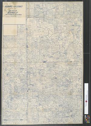 Primary view of object titled 'Kilgore-district: portions of Gregg, Rusk, Smith & Cherokee Counties.'.