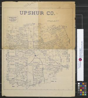 Primary view of object titled 'Upshur Co. [Texas].'.