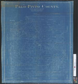 Primary view of object titled 'Palo Pinto County.'.