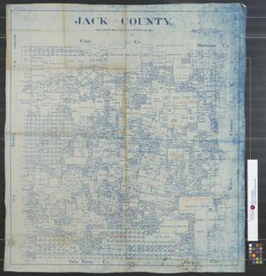 Primary view of object titled 'Jack County.'.