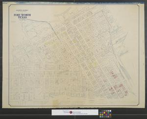 Primary view of object titled 'Business District and adjoining sections of Fort Worth Texas.'.