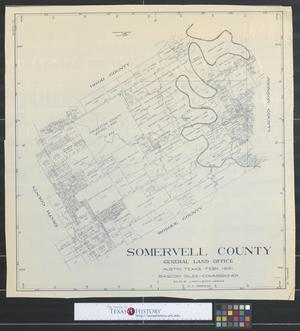 Primary view of object titled 'Somervell County [Texas].'.