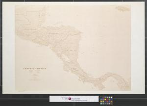 Primary view of object titled 'Central America.'.