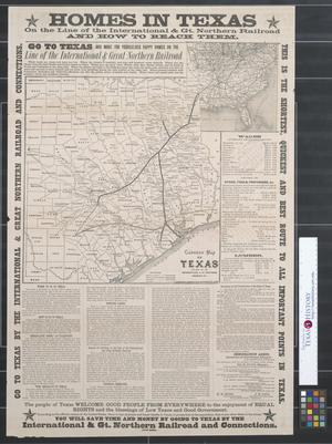 Primary view of object titled 'Correct map of Texas'.