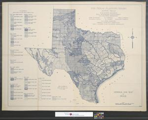 Primary view of object titled 'General soil map of Texas.'.