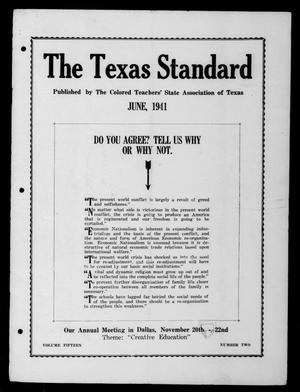 The Texas Standard, Volume 15, Number 2, June 1941