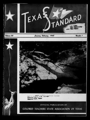 Primary view of object titled 'The Texas Standard, Volume 22, Number 1, January-February 1948'.