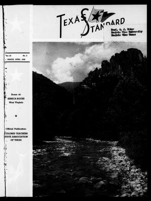 Primary view of object titled 'The Texas Standard, Volume 22, Number 2, March-April 1948'.