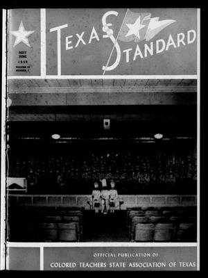 Primary view of object titled 'The Texas Standard, Volume 23, Number 3, May-June 1949'.