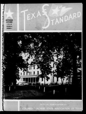 Primary view of object titled 'The Texas Standard, Volume 23, Number 4, September-October 1949'.