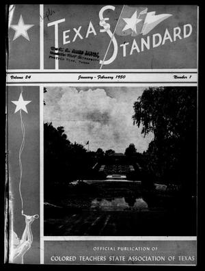 Primary view of object titled 'The Texas Standard, Volume 24, Number 1, January-February 1950'.