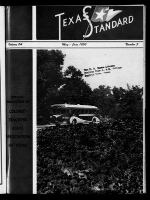 Primary view of object titled 'The Texas Standard, Volume 24, Number 3, May-June 1950'.