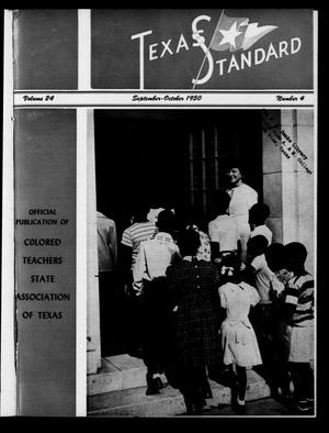 Primary view of object titled 'The Texas Standard, Volume 24, Number 4, September-October 1950'.