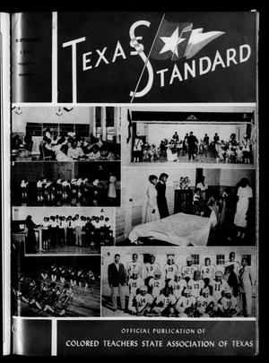 Primary view of object titled 'The Texas Standard, Volume 25, Number 4, September 1951'.